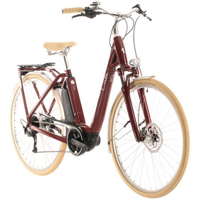 Cube Ella Ride Hybrid 400 Easy Entry, red/white